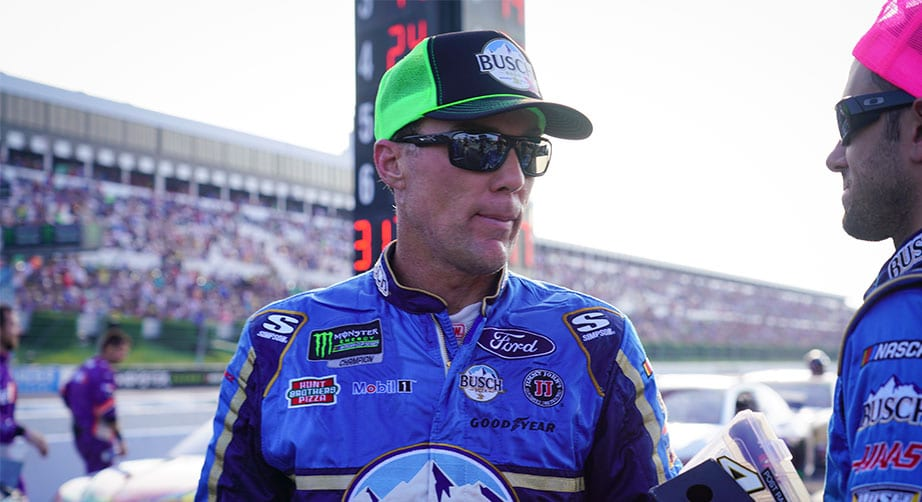 Cautions hurt Kyle Busch, Kevin Harvick at end of Pocono – NASCAR
