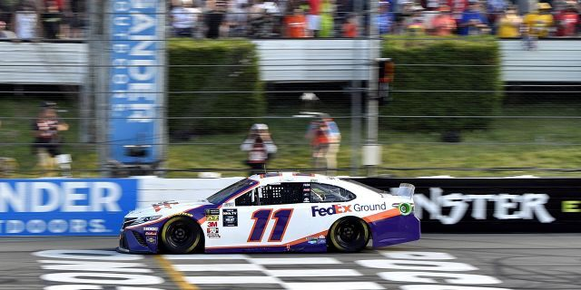 Denny Hamlin wins Pocono NASCAR race for fifth time – Fox News