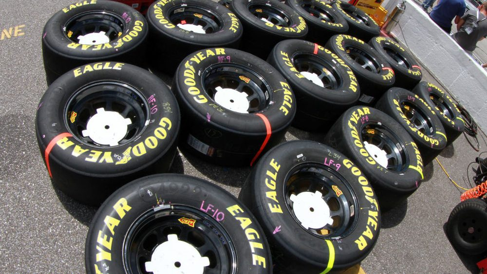 Goodyear tire info for Watkins Glen, Eldora – NBC Sports – Misc.