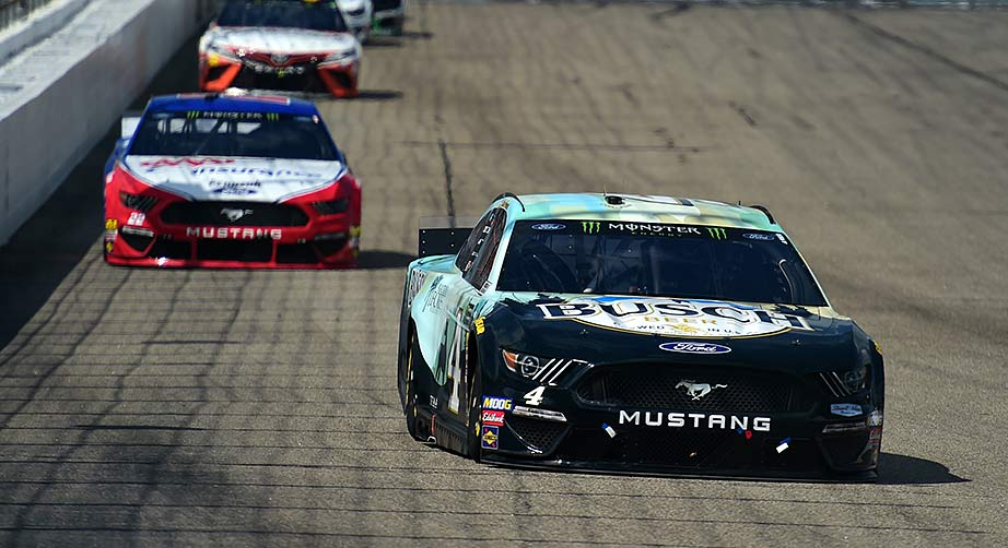 Harvick's No. 4 SHR Ford all clear in post-race inspection at New Hampshire – NASCAR