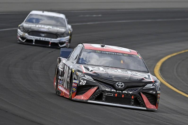 """JGR's Jones will """"sleep a lot easier"""" after NASCAR playoff boost – autosport.com"""