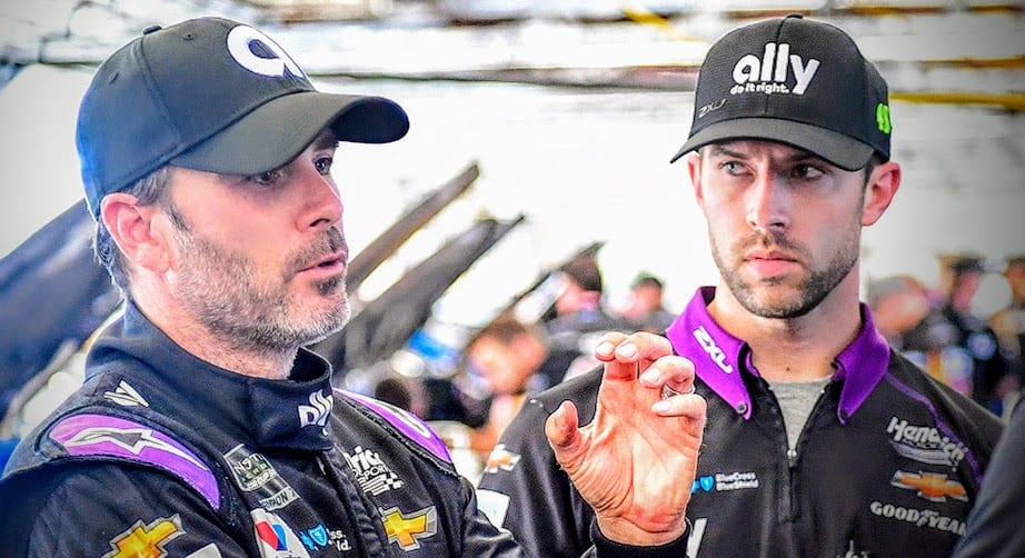Jimmie Johnson on crew chief change: 'We have to act now' – NASCAR