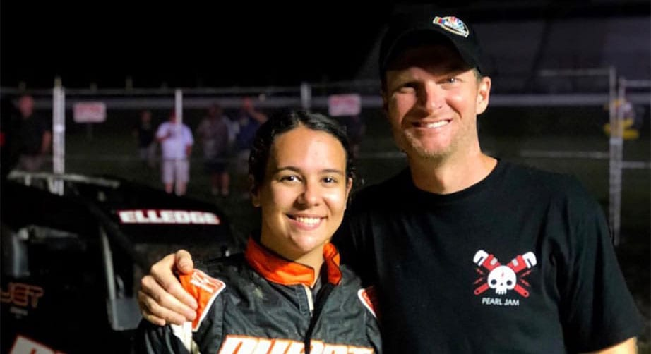 Karsyn Elledge OK after scary sprint car wreck – NASCAR