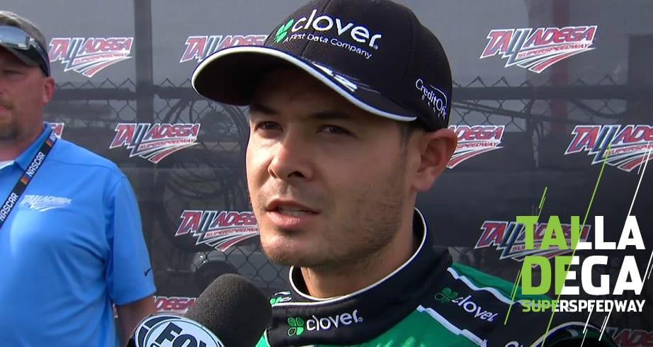 Larson on rollover at Talladega: 'Longest flip I've ever had' – NASCAR