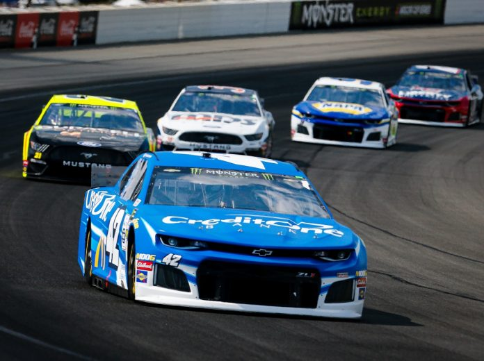 Larson Takes Backup Car To Fifth At Pocono – SPEED SPORT