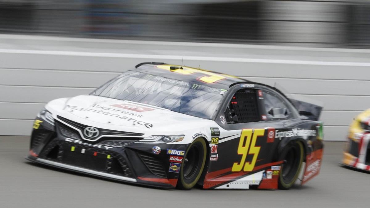 NASCAR driver lost nearly 10 pounds during Cup Series race due to scorching temperatures – CBS Sports
