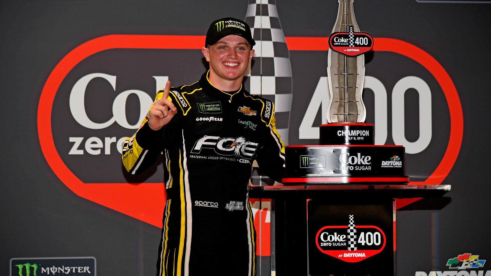 Recapping the week in NASCAR: Justin Haley wins rain-shortened and postponed race at Daytona – NBCSports.com