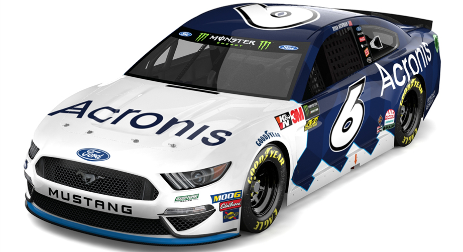 Roush Fenway announces multiyear partnership with Acronis – NASCAR