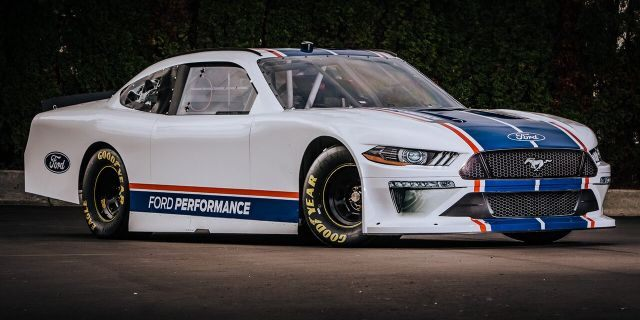 2020 Ford Mustang Xfinity NASCAR car unveiled – Fox News