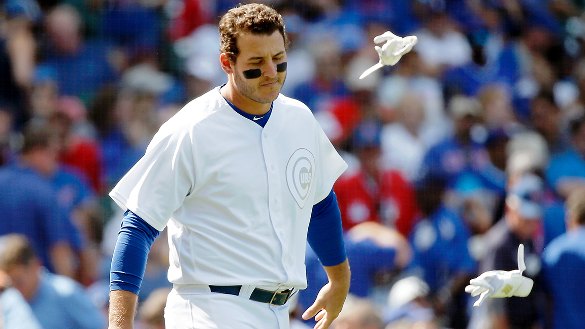 Anthony Rizzo leaves Cubs game with injury – NBCSports.com