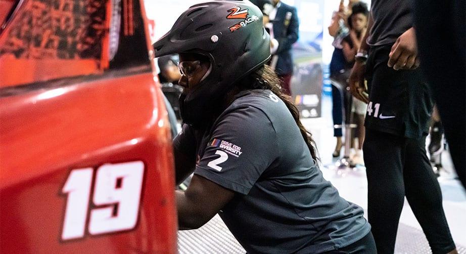 Athletes join NASCAR Drive for Diversity Pit Crew Development Program – NASCAR