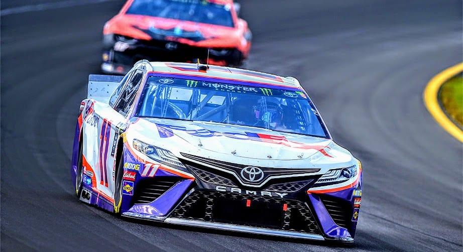 Denny Hamlin's No. 11 all clear in post-race inspection – NASCAR