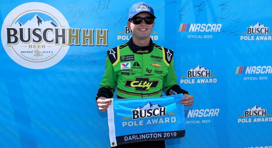 Fast as lightning, Byron wins Darlington pole in 'Days of Thunder' scheme – NASCAR