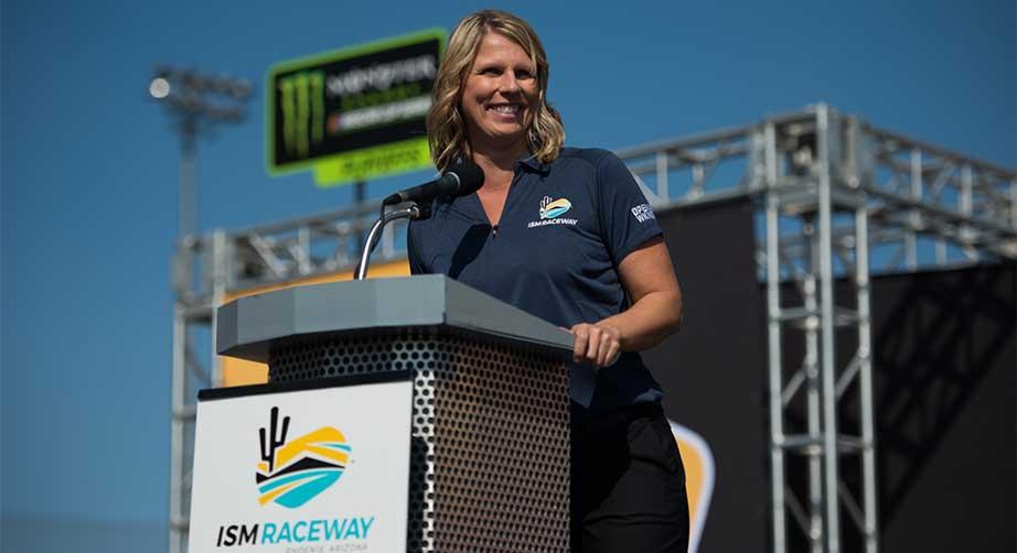 ISM Raceway President Julie Giese named a 'Game Changer' – NASCAR