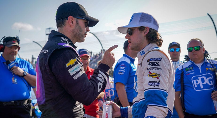 Johnson's anger with Blaney boils over: 'Everybody stay tuned' – NASCAR