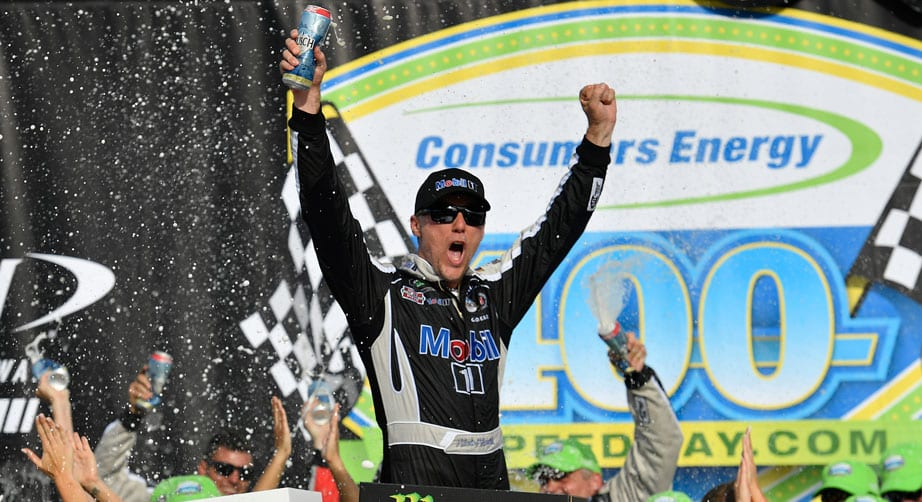 Kevin Harvick stretches fuel mileage for Michigan victory – NASCAR