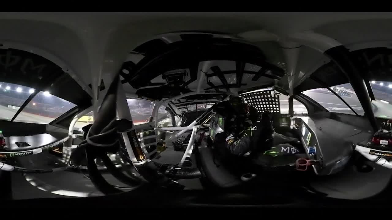 Kurt Busch 360-degree in-car view at Bristol | NASCAR.com – NASCAR