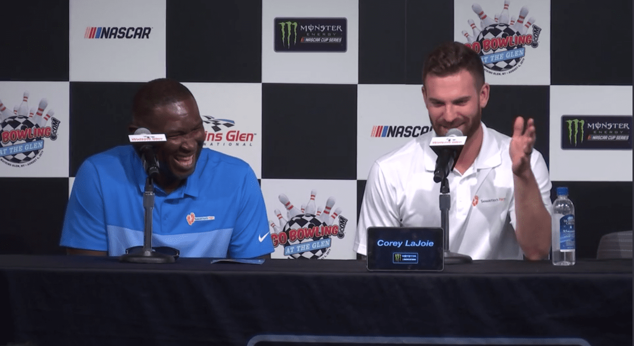 LaJoie explains how charitable cause came together – NASCAR