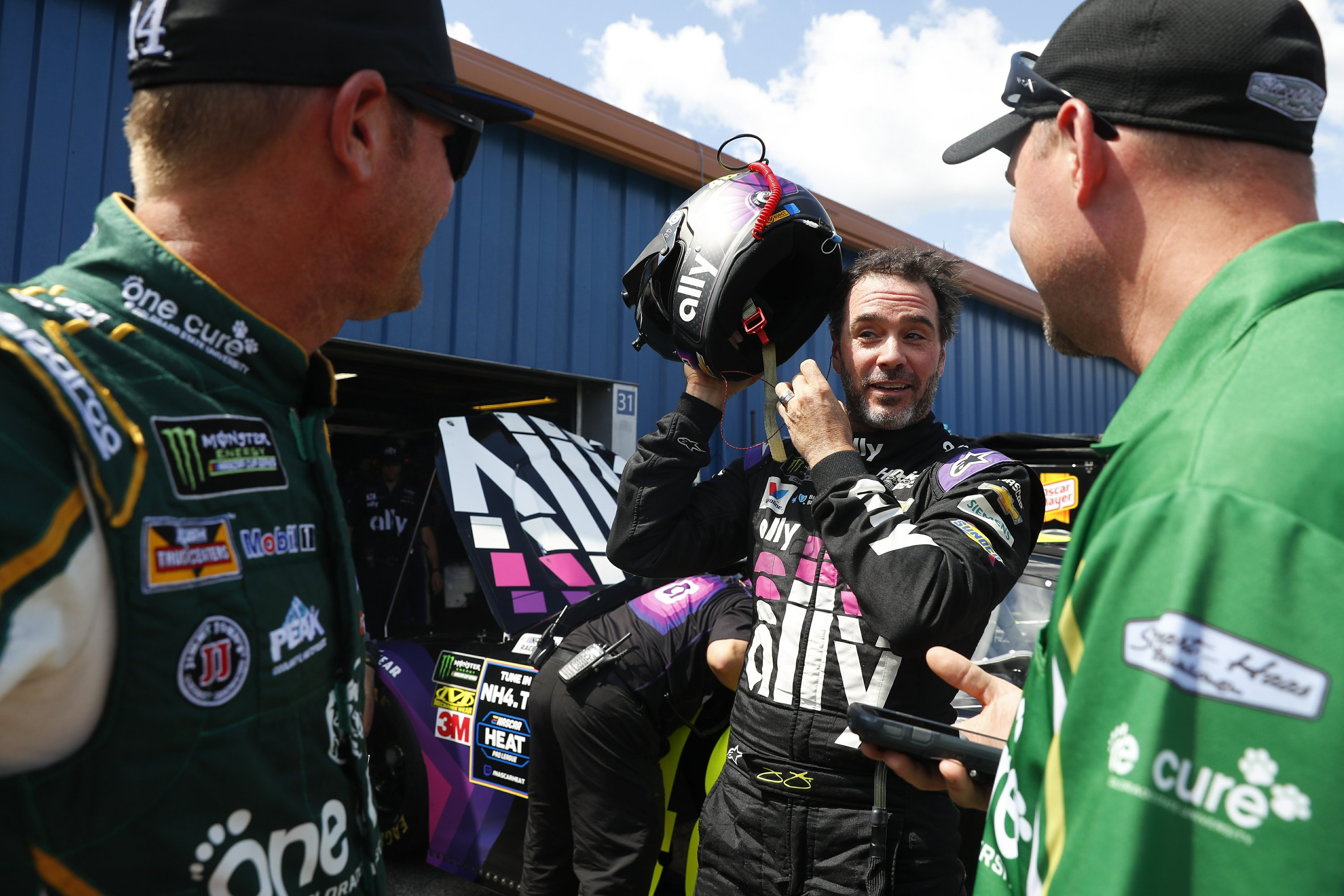 NASCAR drivers pushing limits on track, pointing fingers – The Associated Press