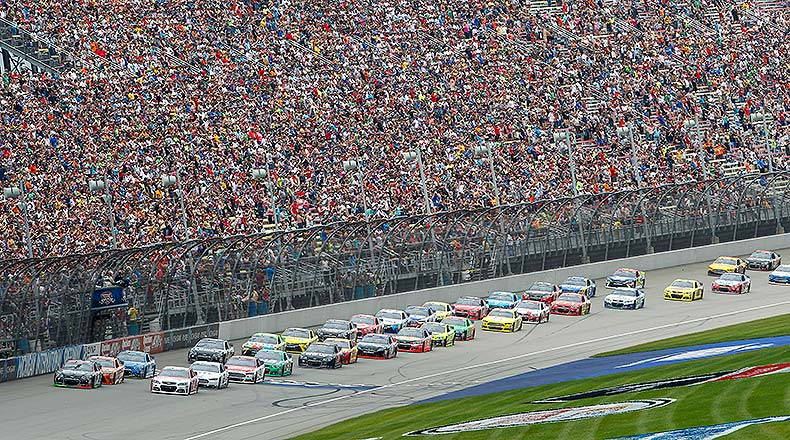 NASCAR Fantasy Picks: Best Michigan International Speedway Drivers for DFS – Athlon Sports