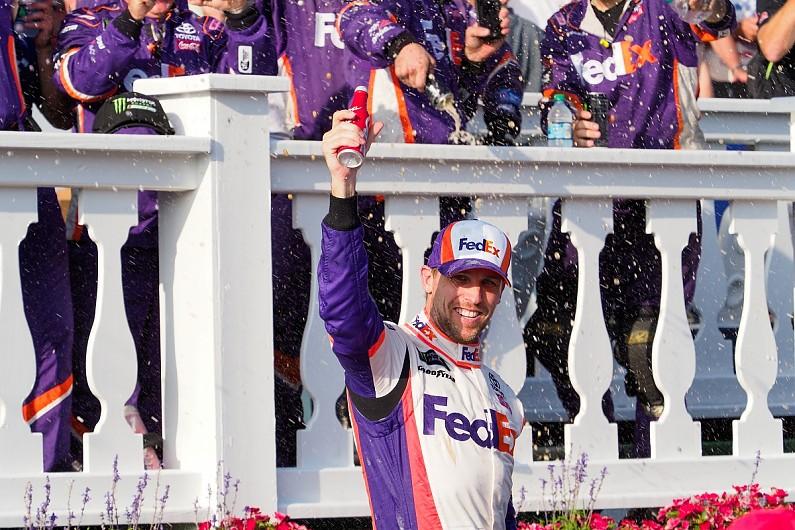 NASCAR Pocono: Hamlin leads JGR 1-2-3 ahead of Jones and Truex Jr – autosport.com