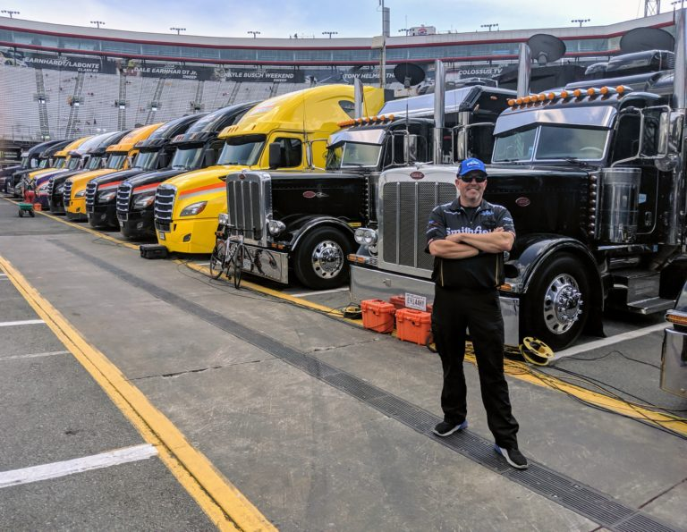 'NASCAR roadies:' Truck drivers keep the sport moving – FreightWaves