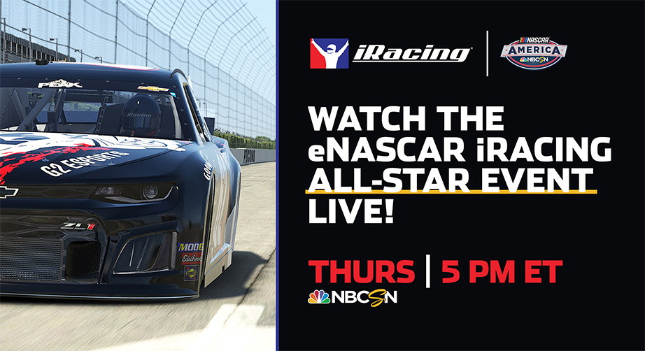 Return to The Rock: iRacing All-Star event slated for historic venue – NASCAR