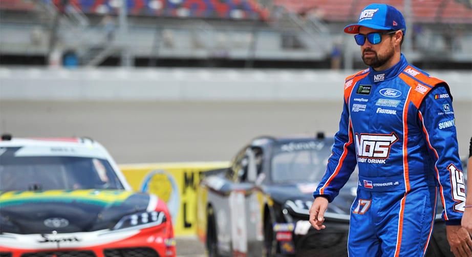 Ricky Stenhouse, Jr. set with Roush Fenway Racing through 2021 – NASCAR