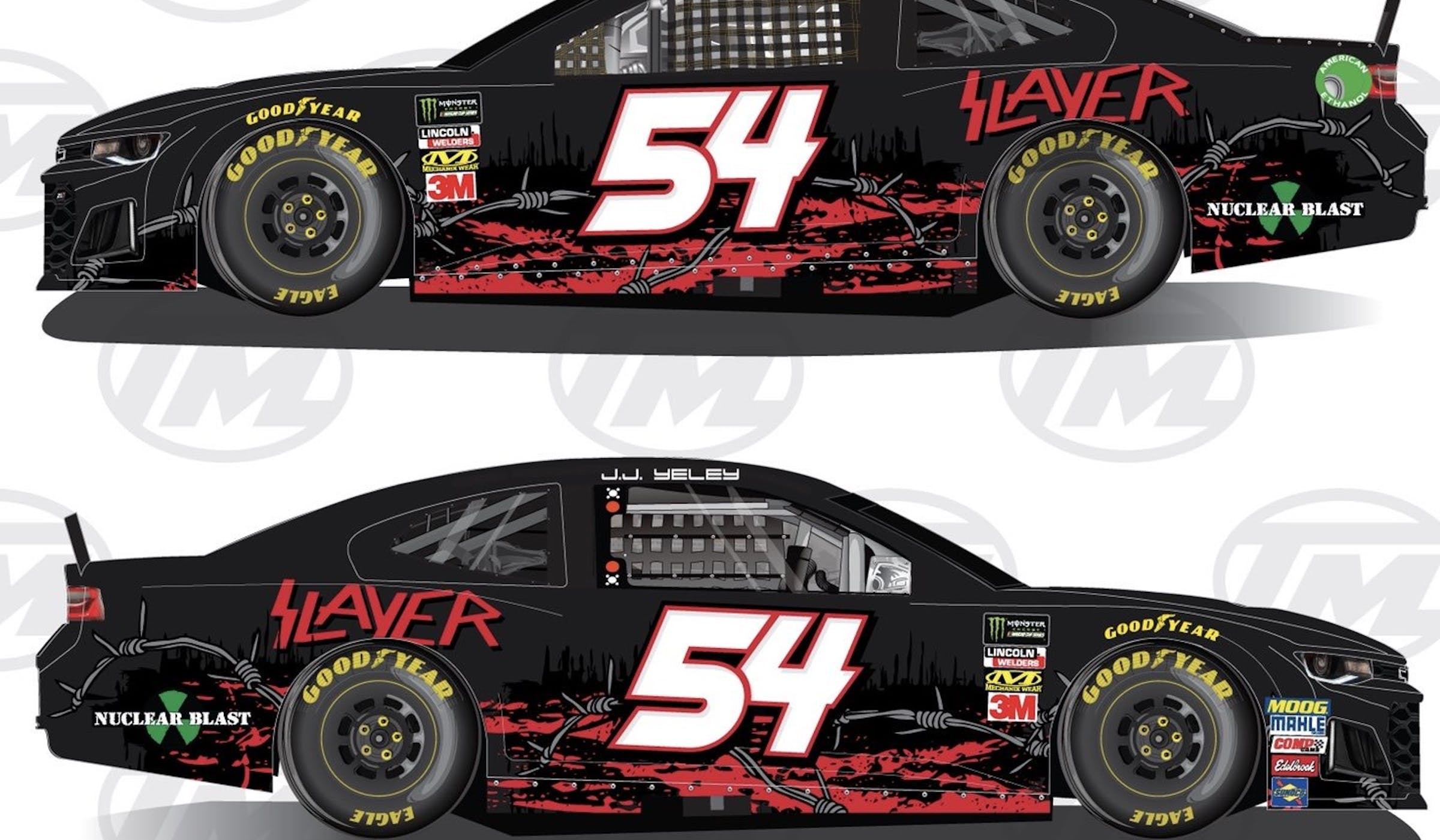 Slayer Announce Their Own NASCAR Chevrolet – Kerrang!