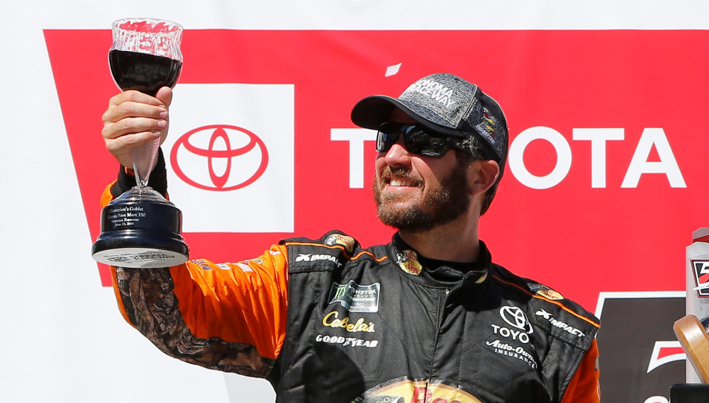 Suspended NASCAR driver still found a way to race this weekend – For The Win
