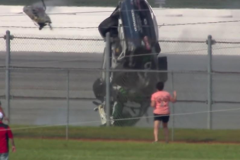 """Talladega NASCAR: Kyle Larson felt like """"scary"""" crash would never end – autosport.com"""