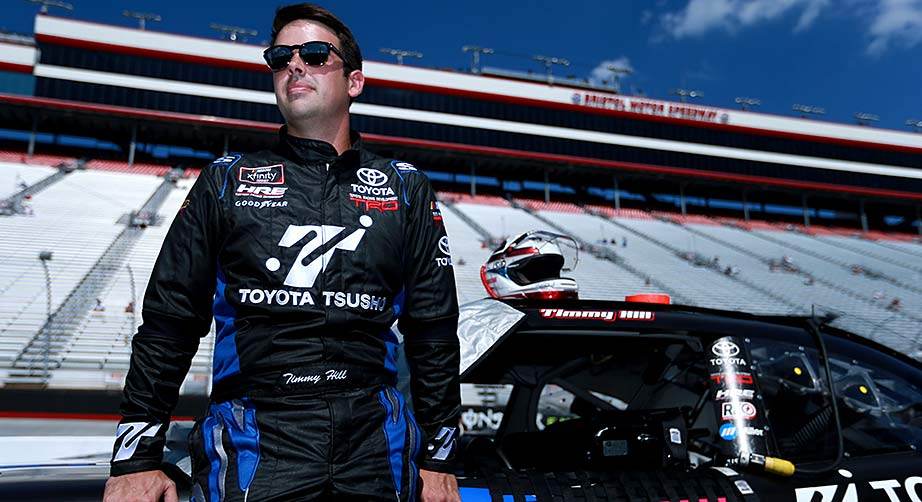 Timmy Hill savors new partnership, equals career-best finish at Bristol – NASCAR