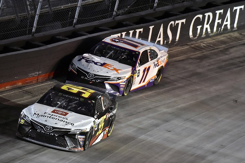 Toyota driver Hamlin comes from two laps down for Bristol NASCAR win – autosport.com
