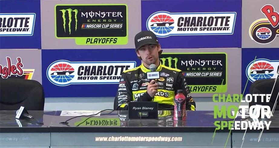 Blaney: 'Banzai moves' in new Charlotte Roval chicane – NASCAR