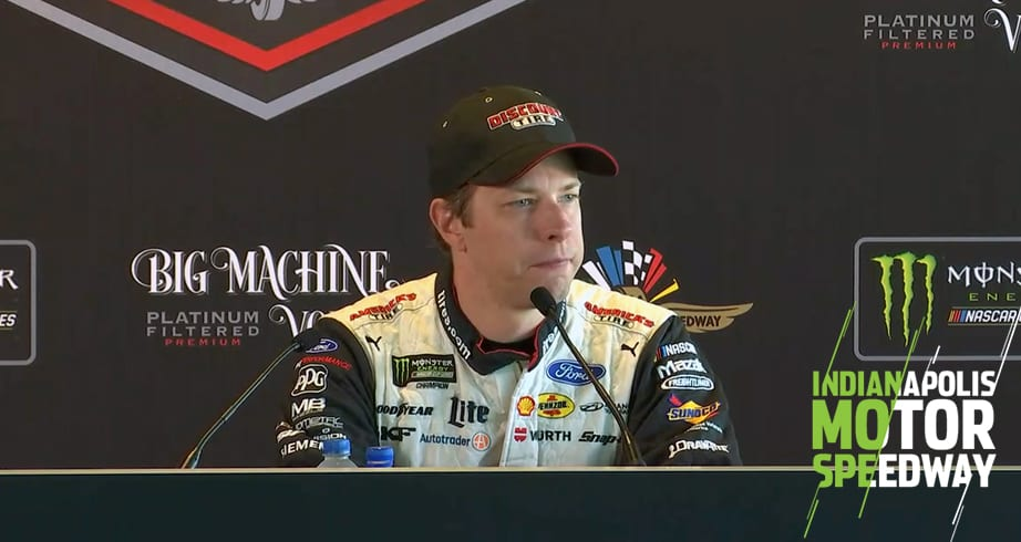 Brad Keselowski: 'I wouldn't write off' Jimmie Johnson – NASCAR