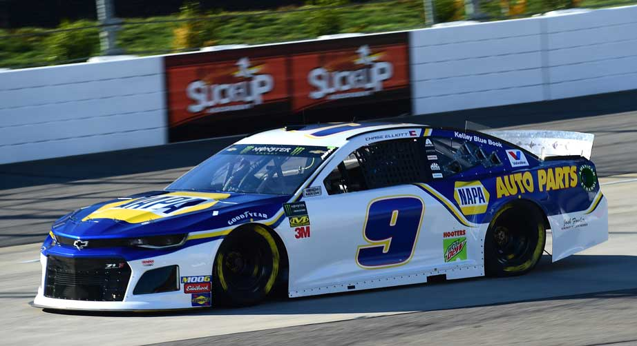 Chase Elliott, Clint Bowyer lead Martinsville practices – NASCAR