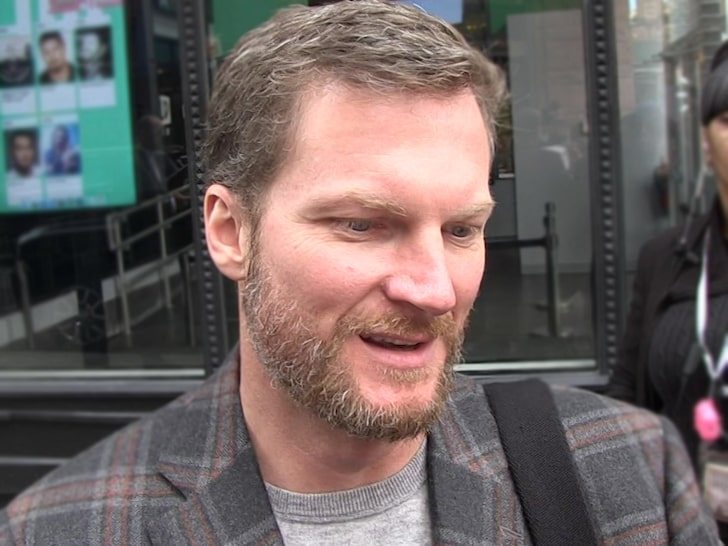 Dale Earnhardt Jr. Has Bruised Back But Plans On Driving After Plane Crash – TMZ