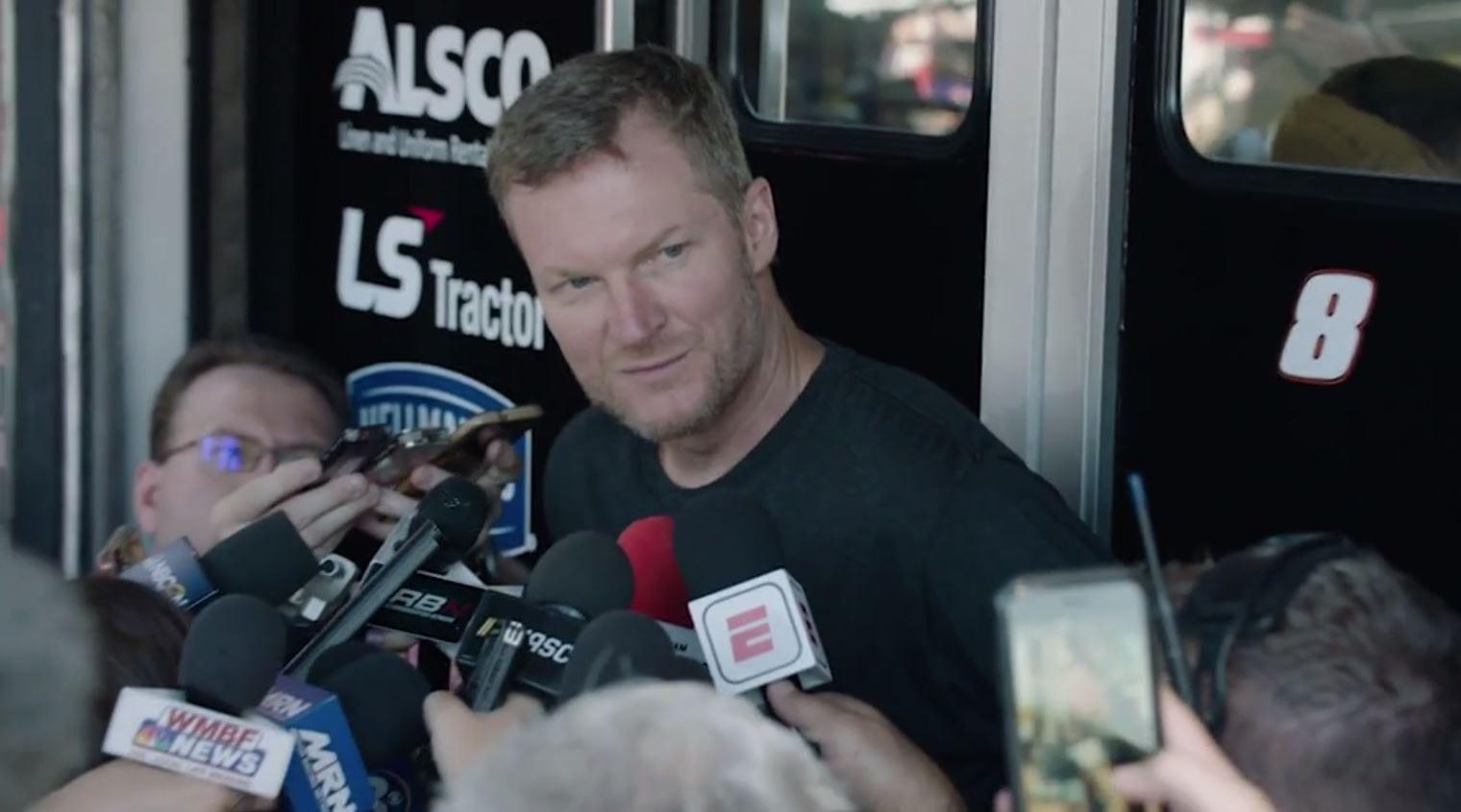 Dale Jr. is excited but nervous for Darlington race – NASCAR