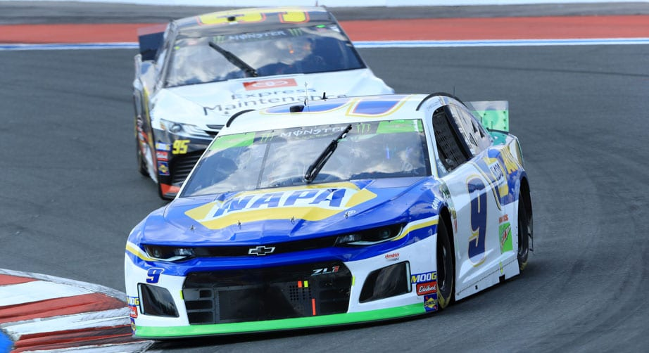 Elliott, Larson take Roval stage wins as Bowman punts Wallace – NASCAR