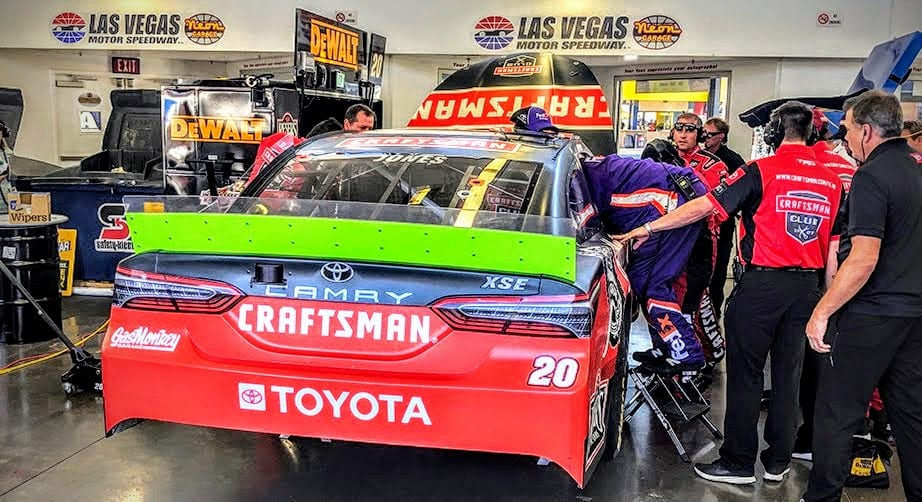 Erik Jones' hopes of playoff advancement take a hit at Las Vegas – NASCAR