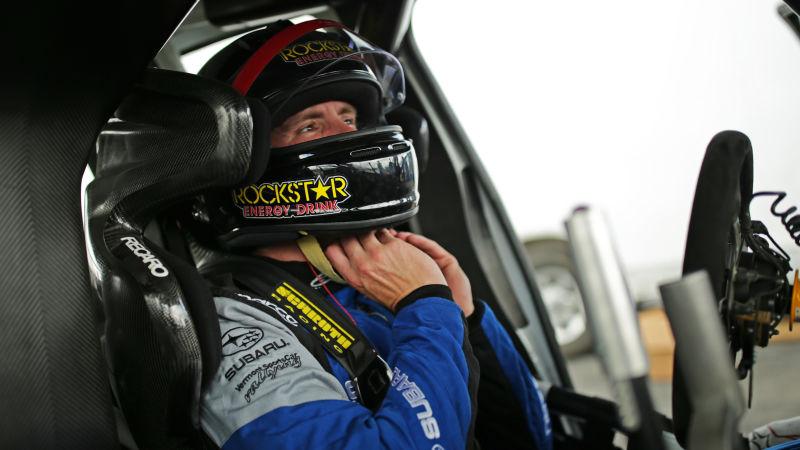 Former F1 Driver Scott Speed Breaks Back In Rallycross Jump – Jalopnik