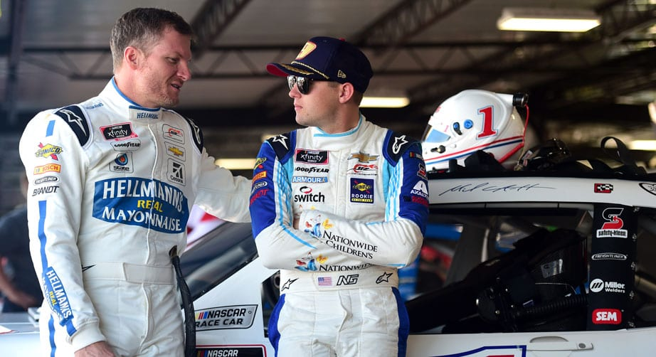 Gragson's self-improvement includes motivational books and deep talks with Dale Jr. – NASCAR