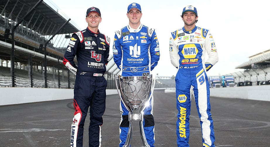 Hendrick's youthful trio ready to navigate NASCAR Playoffs – NASCAR