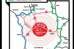 How to navigate the traffic around the Toyota/Save Mart 350 at Sonoma Raceway – Santa Rosa Press Democrat