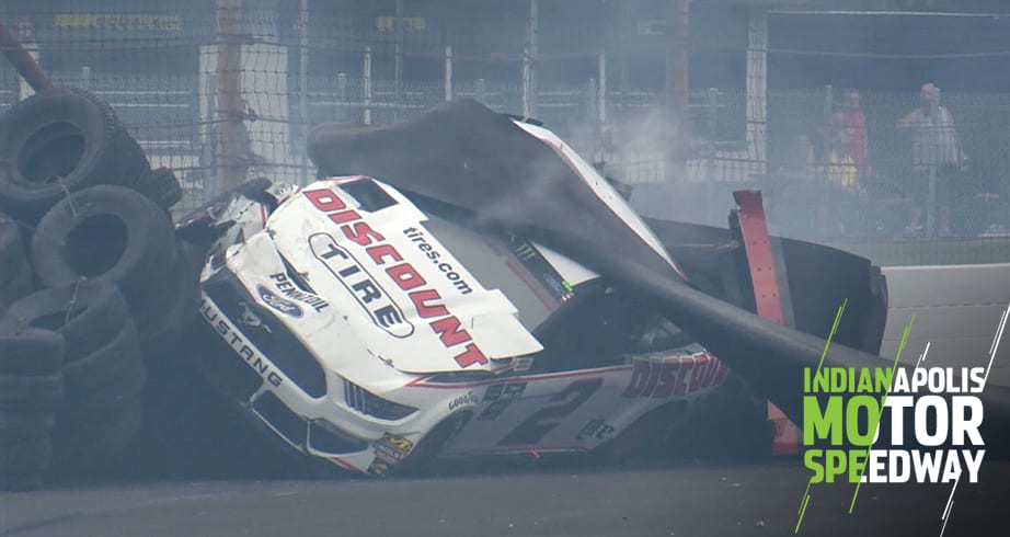 Jones, Keselowski wreck hard just before end of Stage 1 | Official Site Of NASCAR – NASCAR