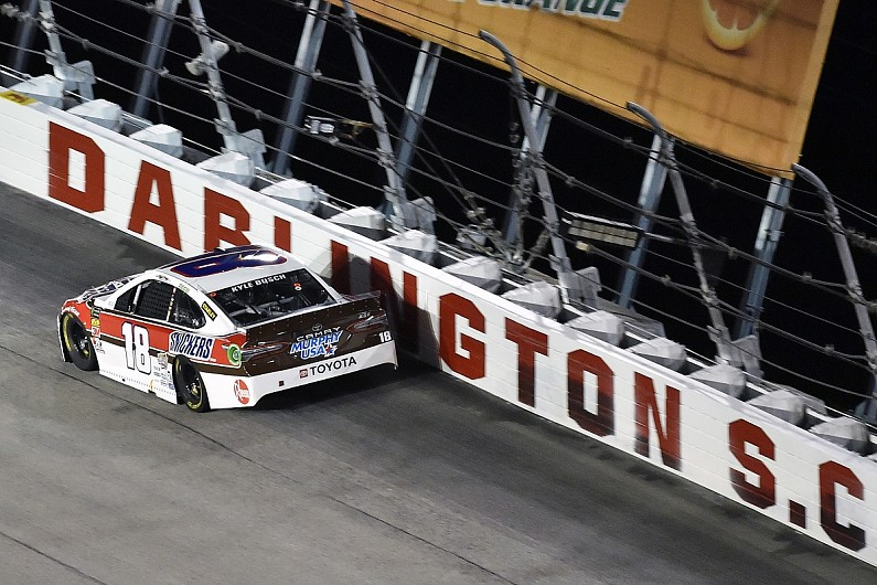 Kyle Busch explains 'losing control' of NASCAR Cup Darlington race – autosport.com