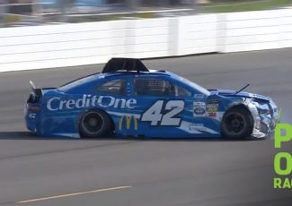 Larson suffers hard crash in opening practice at Pocono NASCAR – NASCAR