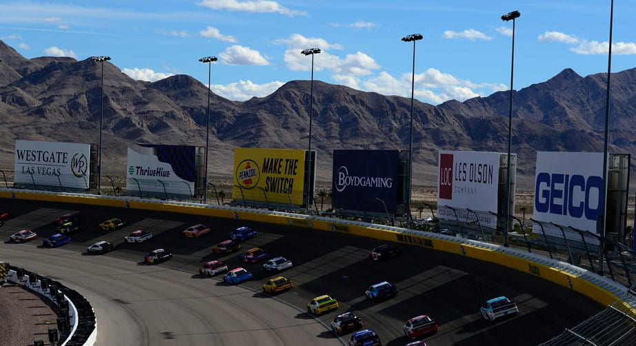 Las Vegas 101: TV times, stats, rules package – NASCAR