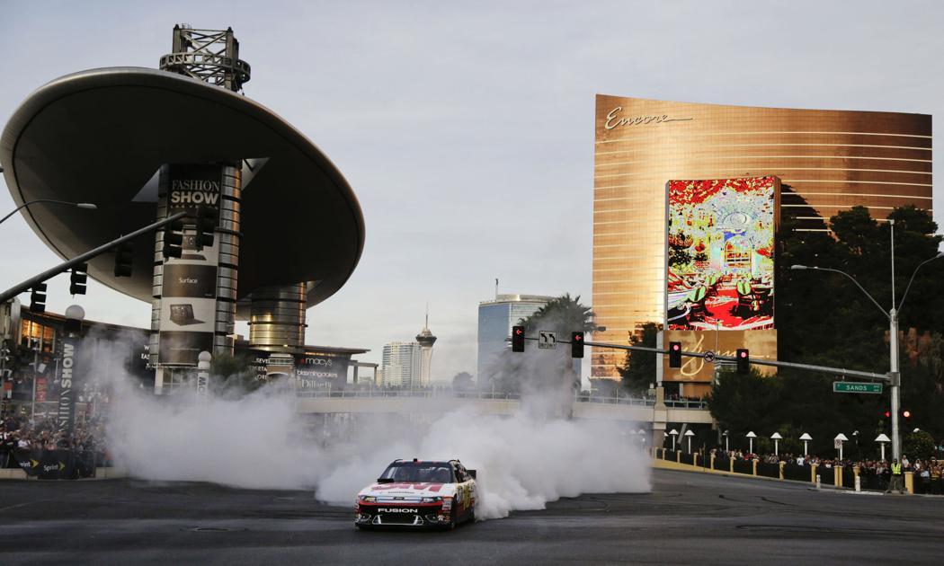NASCAR drivers to take part in burnouts, race car procession on Las Vegas Strip – FOX5 Las Vegas