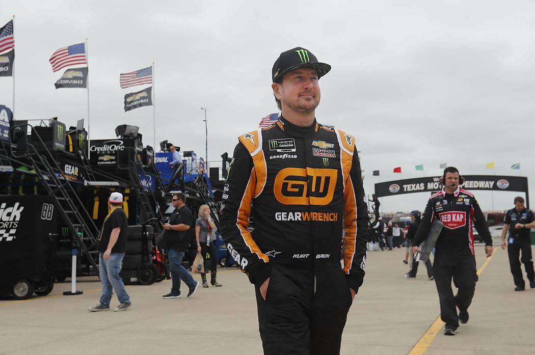 NASCAR's Kurt Busch finds a happy place at career crossroad – Las Vegas Review-Journal